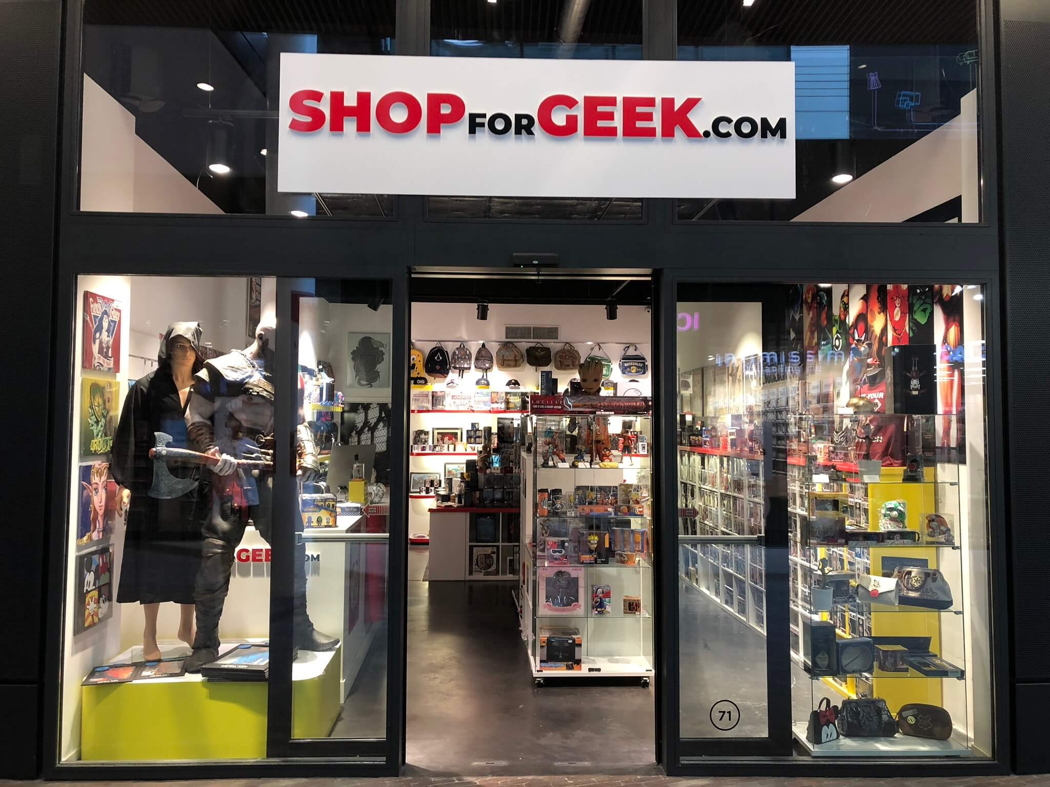ShopForGeek Docks Bruxsel